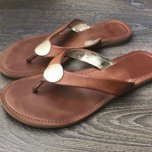 a3810b159cce3 Report Shoes - Used Report Savina flip flop